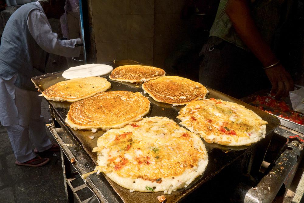 South Indian breakfast, Varanasi, India