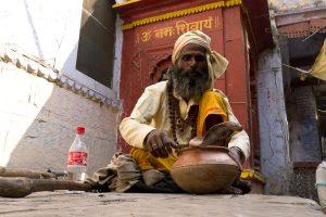 Snake Charmer, Varanasi, India