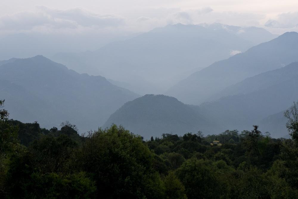 Tashiding from Rabong, Sikkim