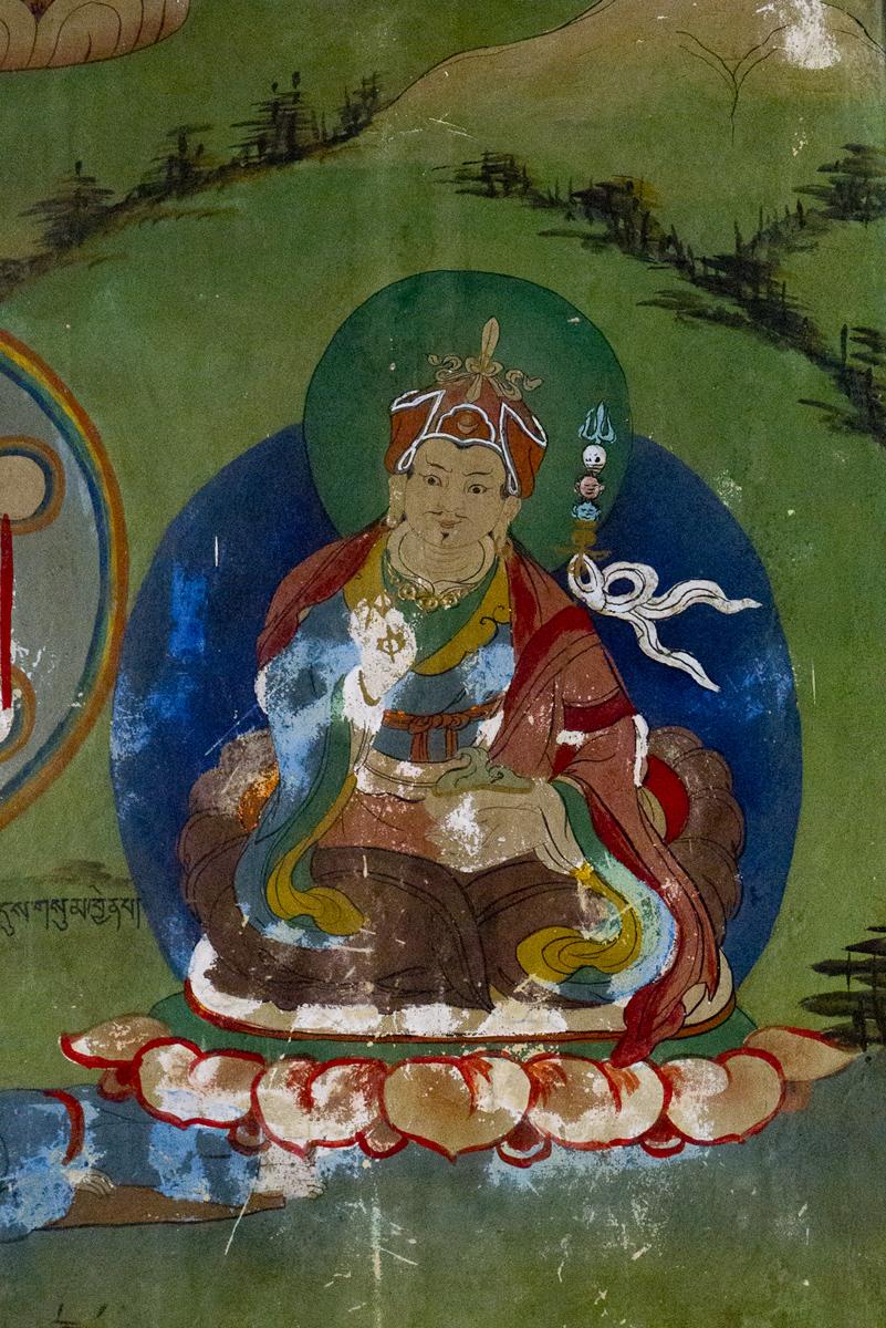 Guru Rinpcoche, Pemayangtse Monastery, Sikkim