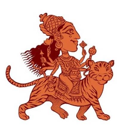 The Navadurga, Kushmanda illustration by SATYA MOSES