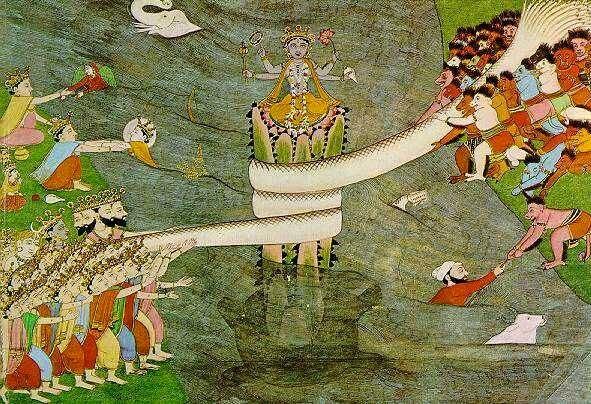 Samudra Manthana (Churning of the Ocean)