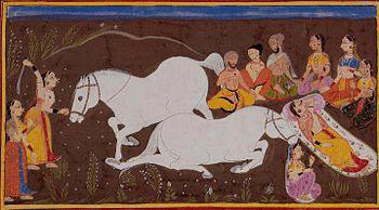 The Horse sacrifice -Ashvamedha Yagna