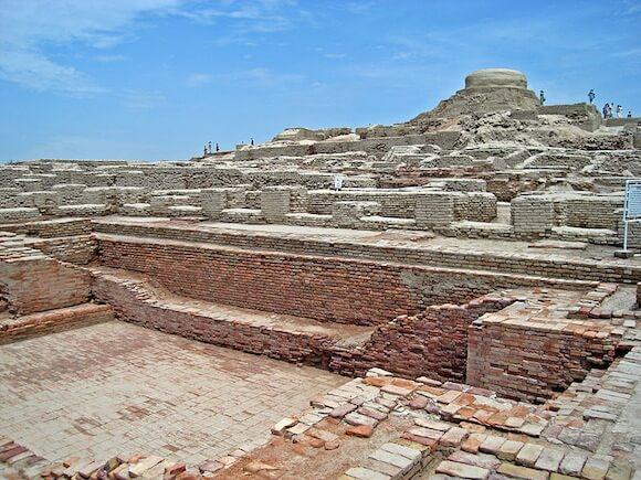 Archeological remains on Harrapan